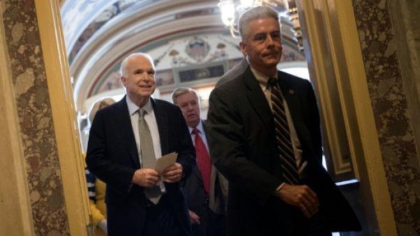 Le Sénat américain rejette l'abrogation partielle de l'Obamacare
