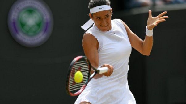 Tennis: Caroline Garcia qualifiée dans la douleur pour les demi-finales àBastad