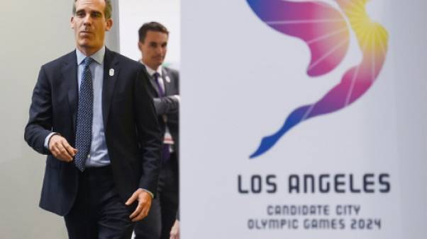 "JO-2024/2028: le CIO ""apprécie le commentaire positif"" de Garcetti"