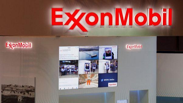 Exxon Mobil quarterly profit nearly doubles