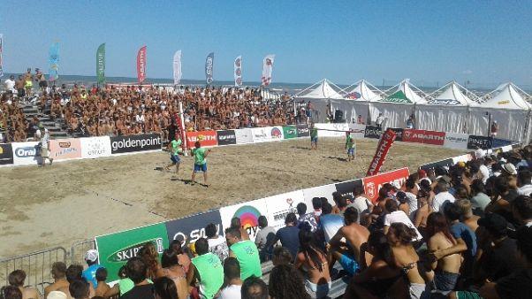 Foot-volley, 112.000 euro a Visso