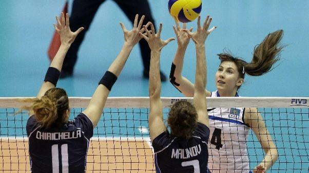 Volley: Grand Prix, azzurre in partenza