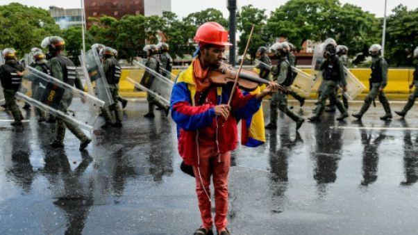 Venezuela: le manifestant violoniste arrêté, selon une ONG