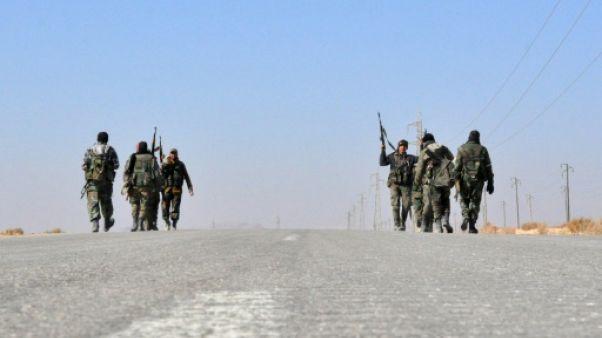 Syrie: l'armée entre dans le dernier fief de l'EI de la province de Homs