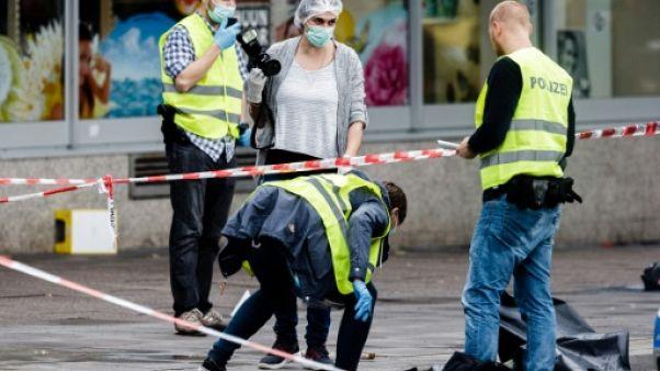 Chasse à l'homme à Hambourg pour maîtriser l'agresseur au couteau