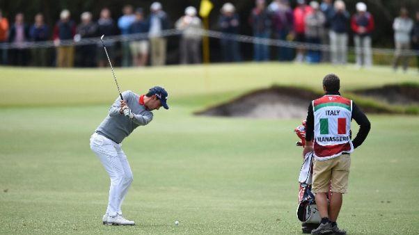 Golf: European Open, Cianchetti è ottavo