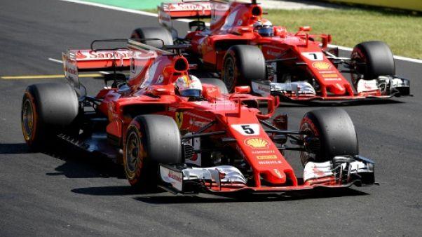 GP de Hongrie: Vettel en position idéale, Hamilton en retrait