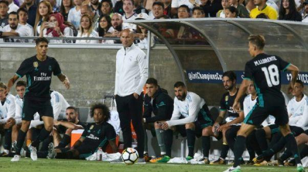 "Amical: Real Madrid-FC Barcelone, plus qu'un ""Clasico"" de rodage"