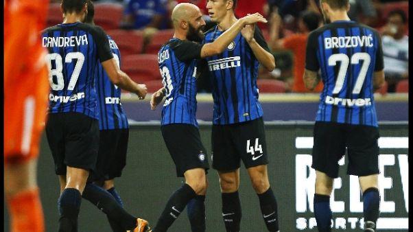 L'Inter batte il Chelsea, vince Icc Asia