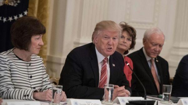 Santé: les deux sénatrices républicaines qui tiennent tête à Trump