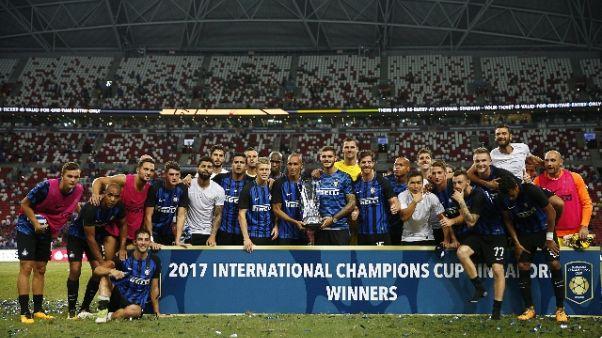 Spalletti, Inter ha giocato bene un'ora