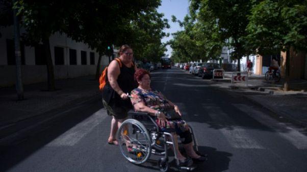 Quartier Los Pajaritos à Séville, l'autre Espagne encore en crise