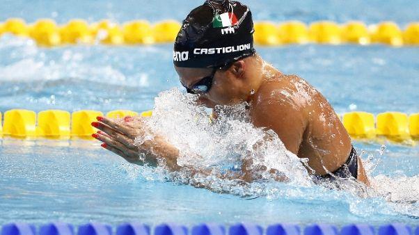 Mondiali nuoto, Castiglioni in finale