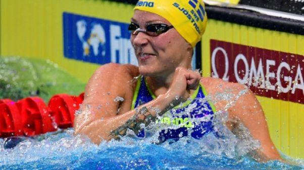 Natation: la Suédoise Sjöström bat le record du monde sur 50 m nage libre