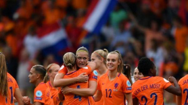 Euro: les Pays-Bas en demi-finales