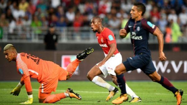 Trophée des Champions: à la mi-temps, Monaco mène 1-0 face au PSG