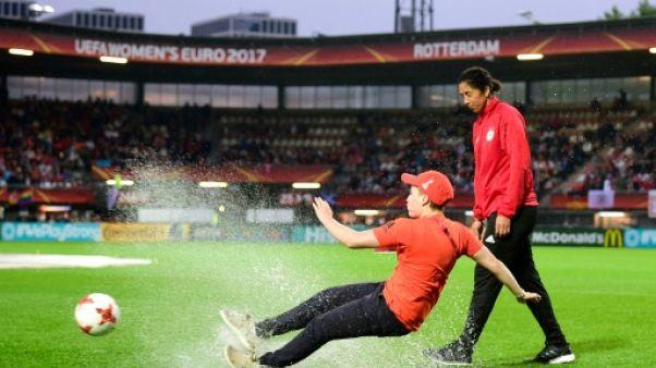Euro: Allemagne-Danemark reporté à dimanche en raison de fortes pluies