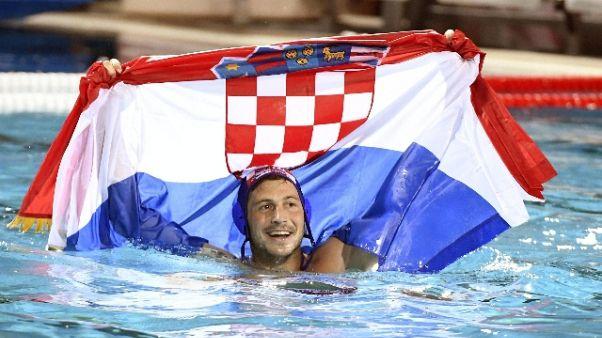Pallanuoto: oro mondiale alla Croazia