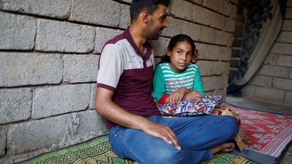 Lost children are legacy of battle for Iraq's Mosul