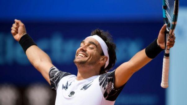 Tennis: tournoi de Gstaad, et de 5 pour Fognini