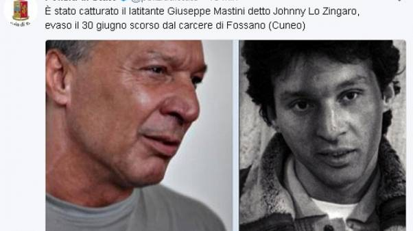 Johnny lo Zingaro in carcere a Sassari