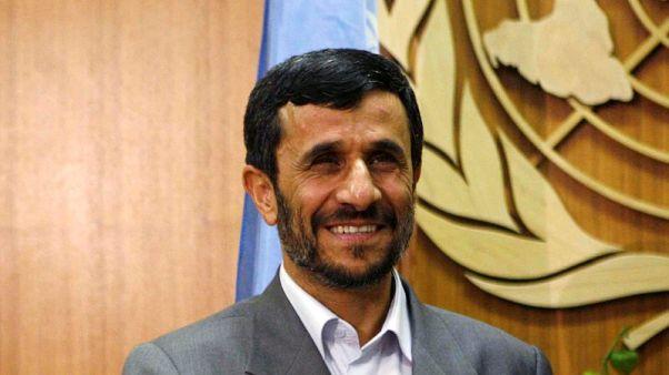 Former Iranian president Ahmadinejad facing sentencing over misuse of funds