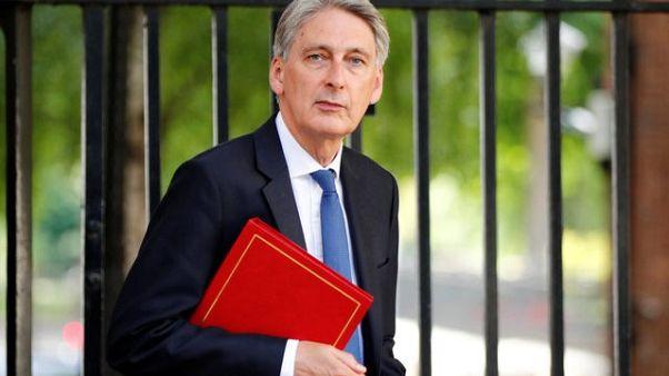 UK will not cut taxes below European average after Brexit - Hammond