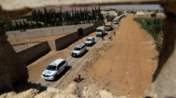 Syrie: une localité assiégée reçoit de l'aide pour la première fois en 5 ans