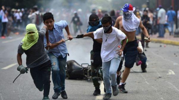 """L'UE exprime sa préoccupation sur le """"sort de la démocratie"""" au Venezuela"""