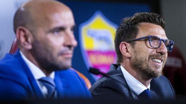 Calcio: Roma rientrata da Boston