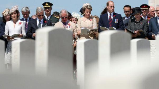 Hommage solennel du Royaume-Uni pour le centenaire du carnage de Passchendaele