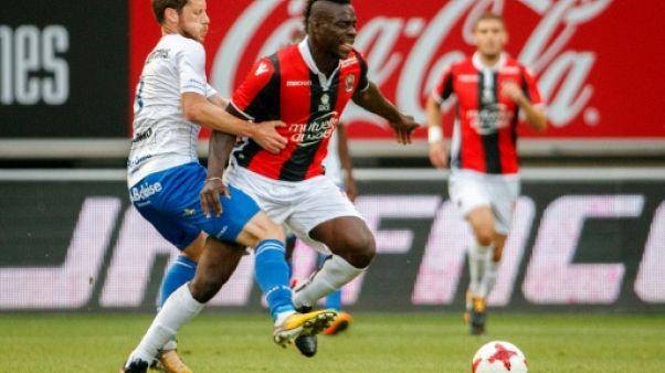Ligue des champions: Mario Balotelli forfait à Amsterdam