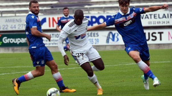 Ligue 1: Amiens a acquis une tribune provisoire ayant appartenu à Evian-Thonon-Gaillard