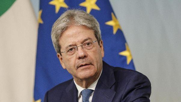 Fincantieri: Gentiloni,difendiamo Italia