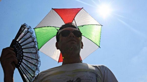 Italia infuocata,a Ferrara percepiti 46°