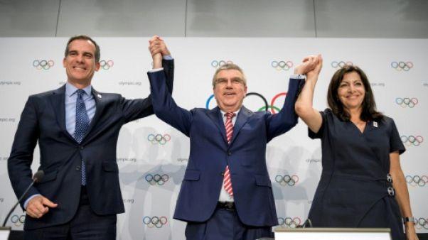 Paris-2024 et LA-2028: une victoire pour le CIO, aussi et surtout