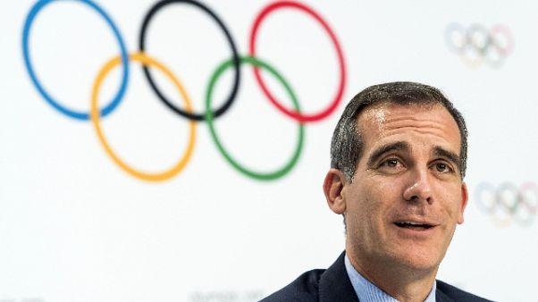 Olimpiadi: comitato Los Angeles conferma