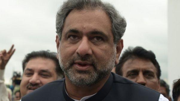 Pakistan: l'ex-ministre du Pétrole Abbasi élu Premier ministre