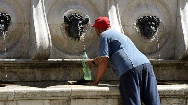 Caldo: 50 gradi percepiti in Sardegna