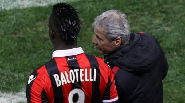 Nice: Lucien Favre et Mario Balotelli font toujours la paire