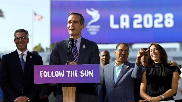 Giochi: da Cio 1 mld extra a Los Angeles
