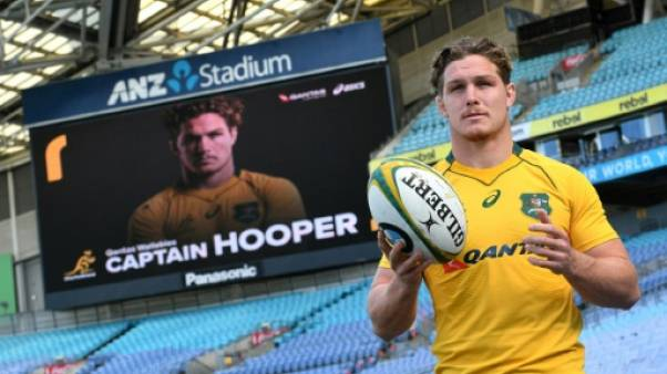 Rugby: Michael Hooper, nouveau capitaine des Wallabies