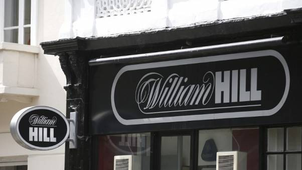 William Hill first-half profit shrinks on poor soccer results
