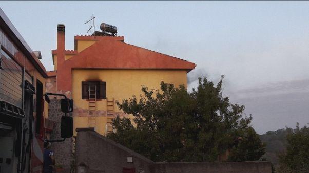 Incendio in casa a Carbonia,muore 56enne