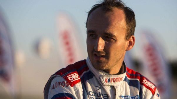 """F1: Kubica, test con la Renault """"vera"""""""