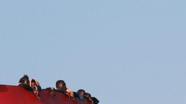 Migrants: une première ONG bloquée en mer à Lampedusa