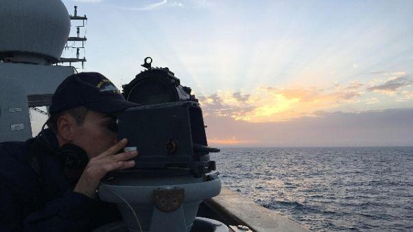 Libia: avviata ricognizione nave Italia