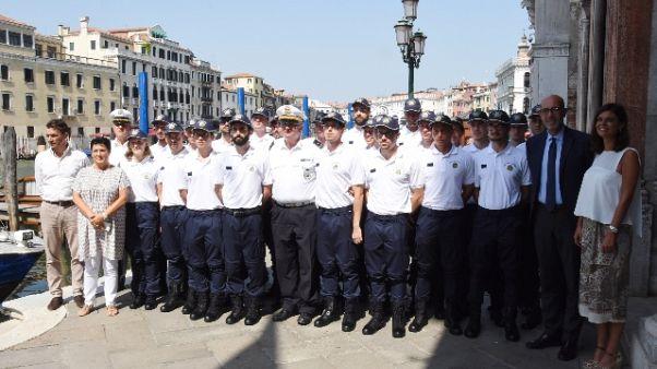 Venezia:offensiva decoro,29 nuovi vigili