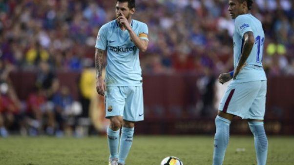 """""""Je t'aime beaucoup"""": l'adieu de Messi à Neymar"""