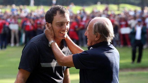 Golf: Chimenti ringrazia Maroni